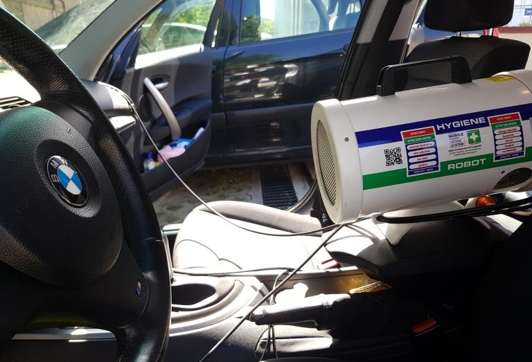 Autóklíma tisztítás